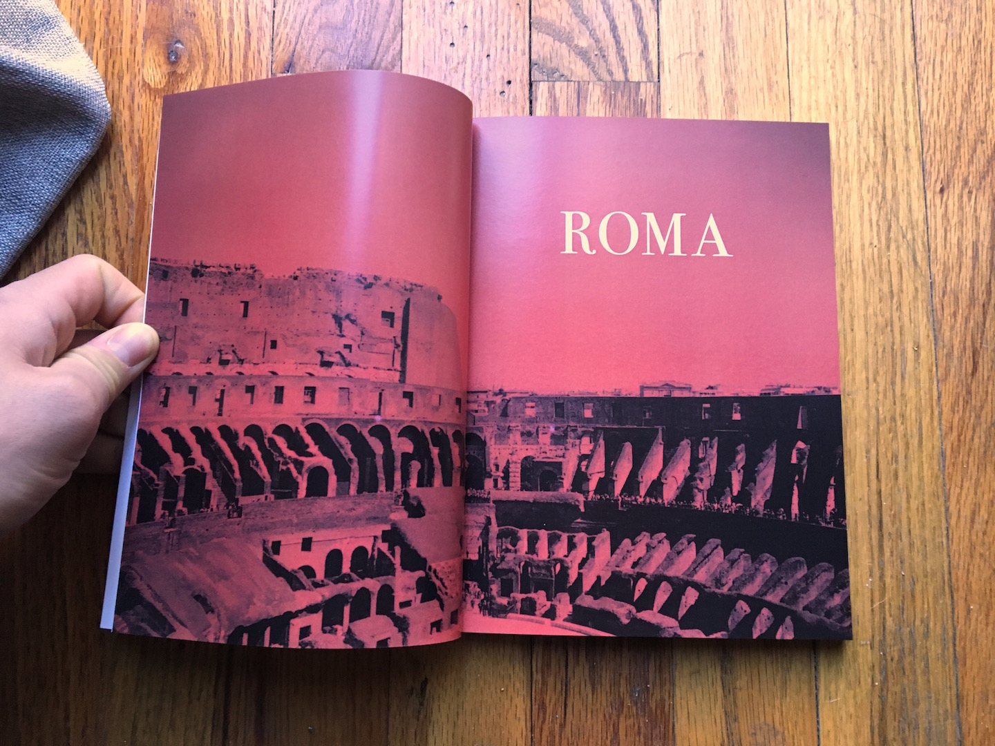 roma title page